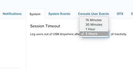 Configuring Web UI Session Timeout
